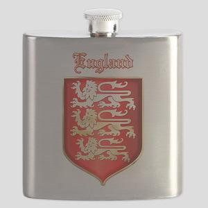 The Royal Arms of England Flask