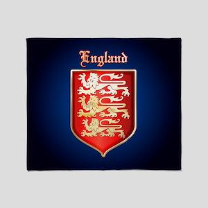 The Royal Arms of England Throw Blanket