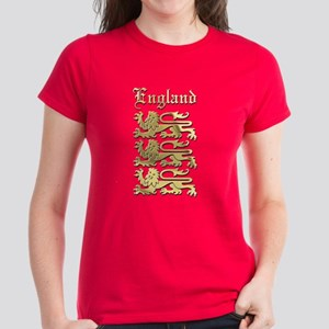 The Royal Arms of England Women's Dark T-Shirt