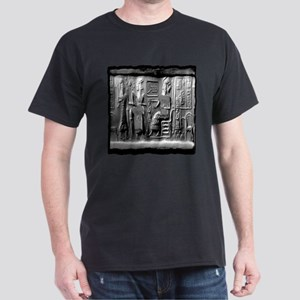summerian tablet art illustration Dark T-Shirt