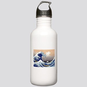 The Great Wave off Kanagawa Stainless Water Bottle
