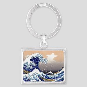 The Great Wave off Kanagawa Landscape Keychain