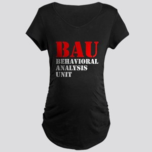 BAU Criminal Minds Maternity Dark T-Shirt