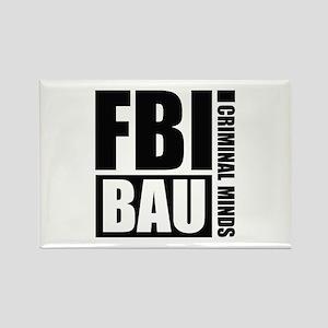 FBI BAU Criminal Minds Rectangle Magnet