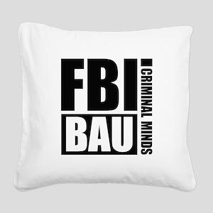 FBI BAU Criminal Minds Square Canvas Pillow