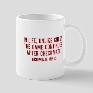 Criminal Minds Quote Mug