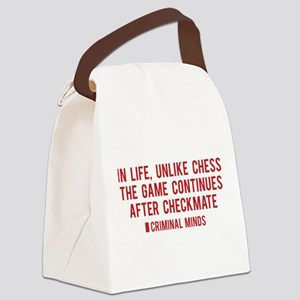 Criminal Minds Quote Canvas Lunch Bag