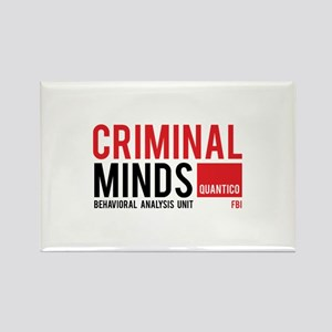 Criminal Minds Rectangle Magnet