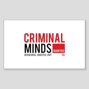 Criminal Minds Sticker (Rectangle)