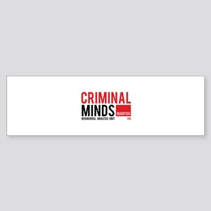 Criminal Minds Sticker (Bumper)