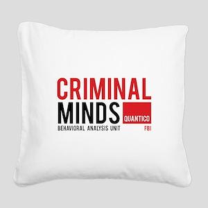 Criminal Minds Square Canvas Pillow