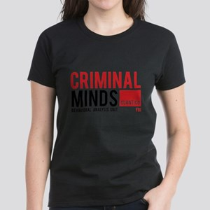 Criminal Minds Women's Dark T-Shirt