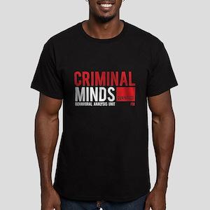 Criminal Minds Men's Fitted T-Shirt (dark)