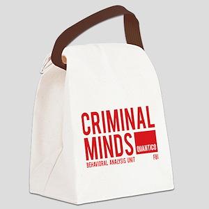 Criminal Minds Canvas Lunch Bag