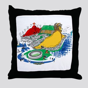Cape Town Throw Pillow