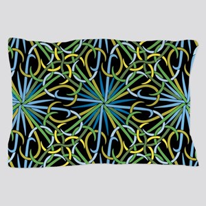 Abstract Fireworks Pillow Case