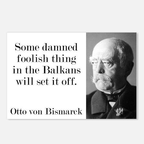 Some Damned Foolish Thing - Bismarck Postcards (Pa