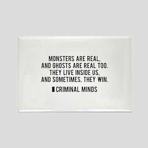 Criminal Minds Quote Rectangle Magnet