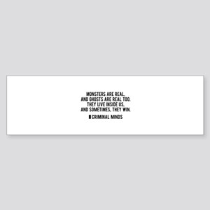 Criminal Minds Quote Sticker (Bumper)