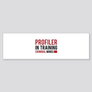 Profiler in Training Sticker (Bumper)