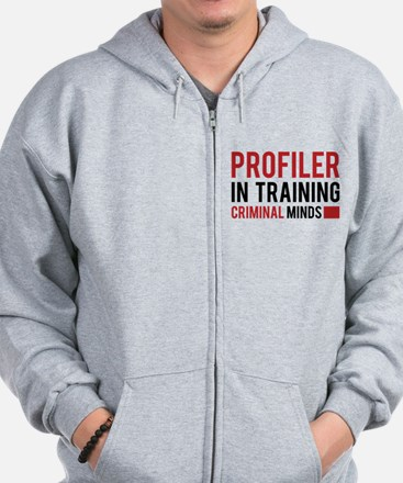Profiler in Training Zip Hoodie