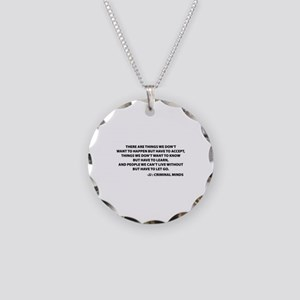 JJ Quote Criminal Minds Necklace Circle Charm