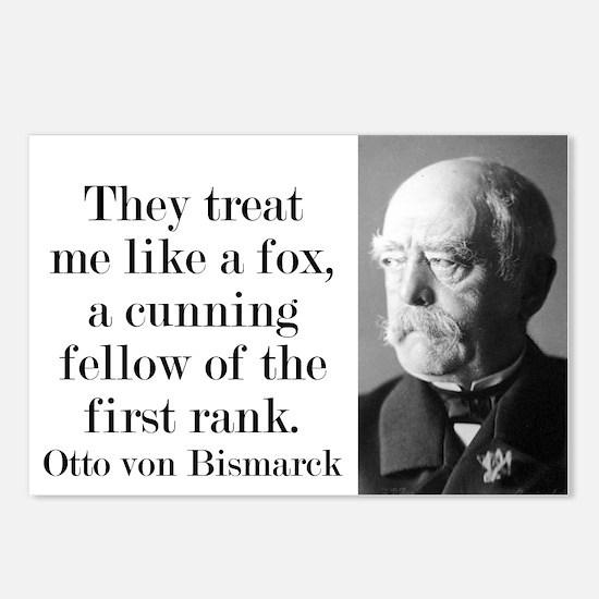 They Treat Me Like A Fox - Bismarck Postcards (Pac