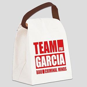 Team Garcia Canvas Lunch Bag