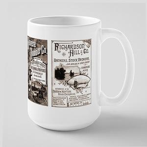 Victorian Banking, Investing, Economy Large Mug