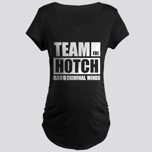 Team Hotch Maternity Dark T-Shirt