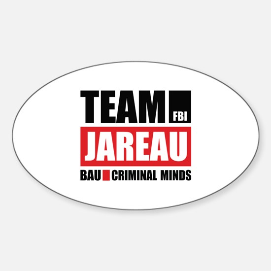 Team Jareau Sticker (Oval)