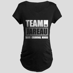Team Jareau Maternity Dark T-Shirt