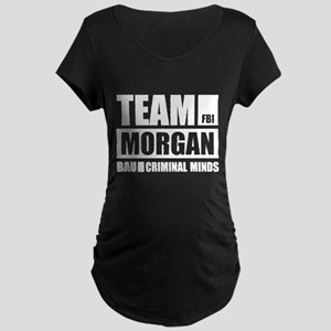 Team Morgan Maternity Dark T-Shirt