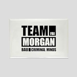 Team Morgan Rectangle Magnet