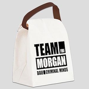 Team Morgan Canvas Lunch Bag