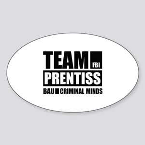 Team Prentiss Sticker (Oval)