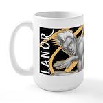 """Lanor """"Portrait"""" Large Mug"""