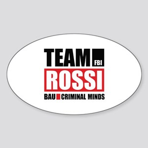 Team Rossi Sticker (Oval)