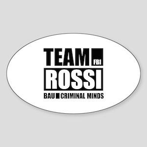 Team Rossi Sticker (Oval)