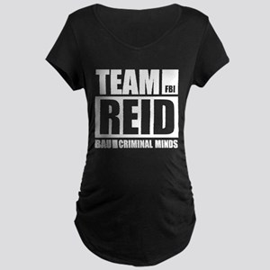 Team Reid Maternity Dark T-Shirt