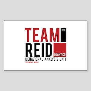 Team Reid Sticker (Rectangle)