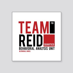 "Team Reid Square Sticker 3"" x 3"""