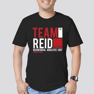 Team Reid Men's Fitted T-Shirt (dark)