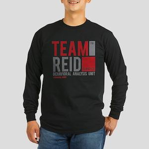 Team Reid Long Sleeve Dark T-Shirt