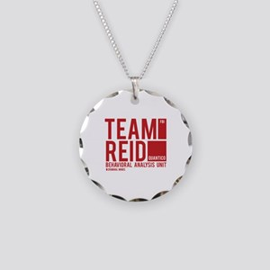 Team Reid Necklace Circle Charm