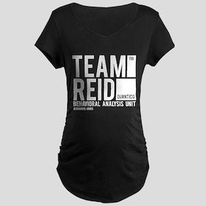 Team Reid Maternity Dark T-Shirt
