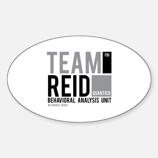 Team Reid Sticker (Oval)