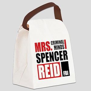 Mrs. Spencer Reid Canvas Lunch Bag