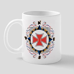 Compass Right-handed Mug