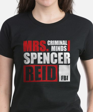 Mrs. Spencer Reid Women's Dark T-Shirt